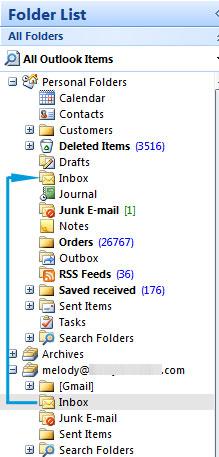 merge inboxes
