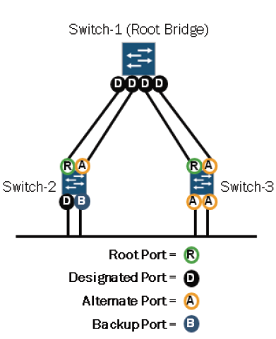 RST port roles