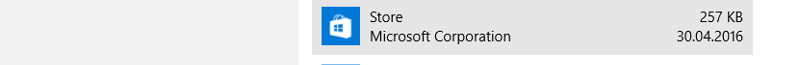 Windows 10 Enterprise Apps & Features: Microsoft Store