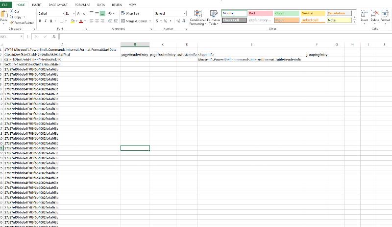 Public Folder Statistics