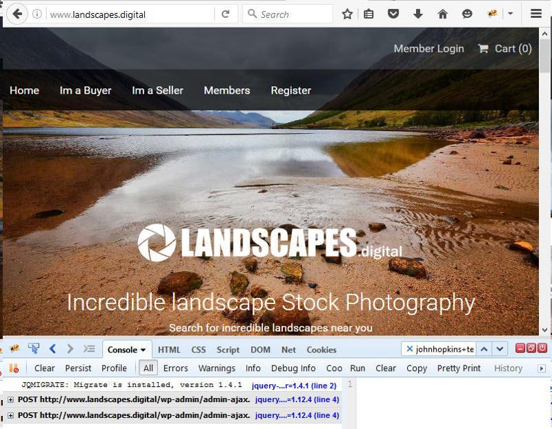 home page no error