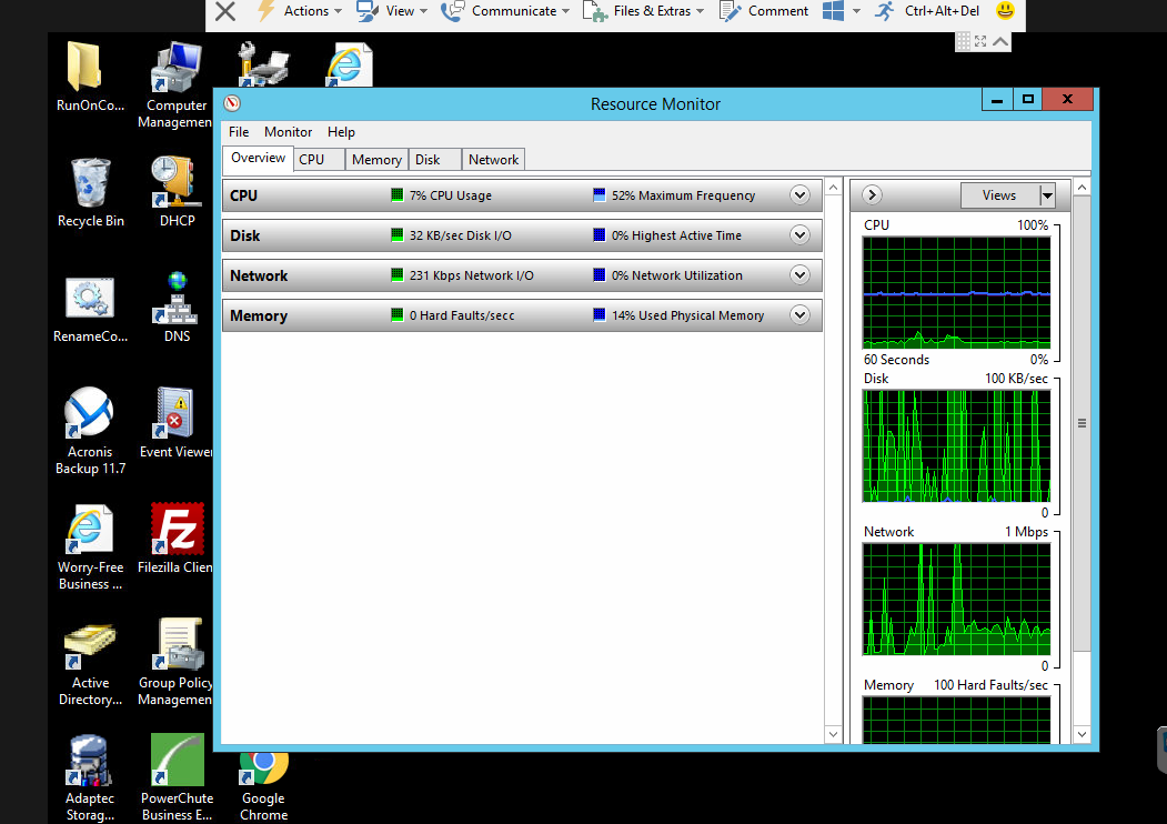 Re-Subnetting Caused Server Slowdown