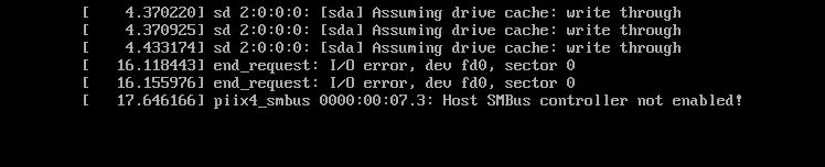 Piix4_smbus 0000: 00: 07: 3: Host SMBus controller not enabled!