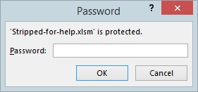 'Stripped-for-help.xlsm' is protected.