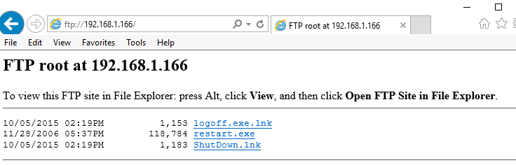 Fails to login to FTP Server