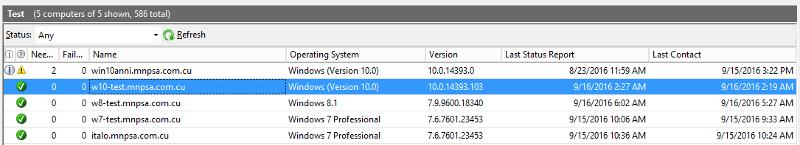 Windows 10 version before kb3189866