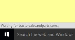 waiting for tractorsalesandparts.com