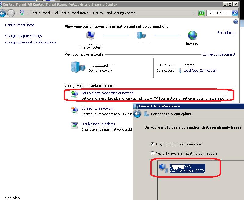 MS VPN PPTP