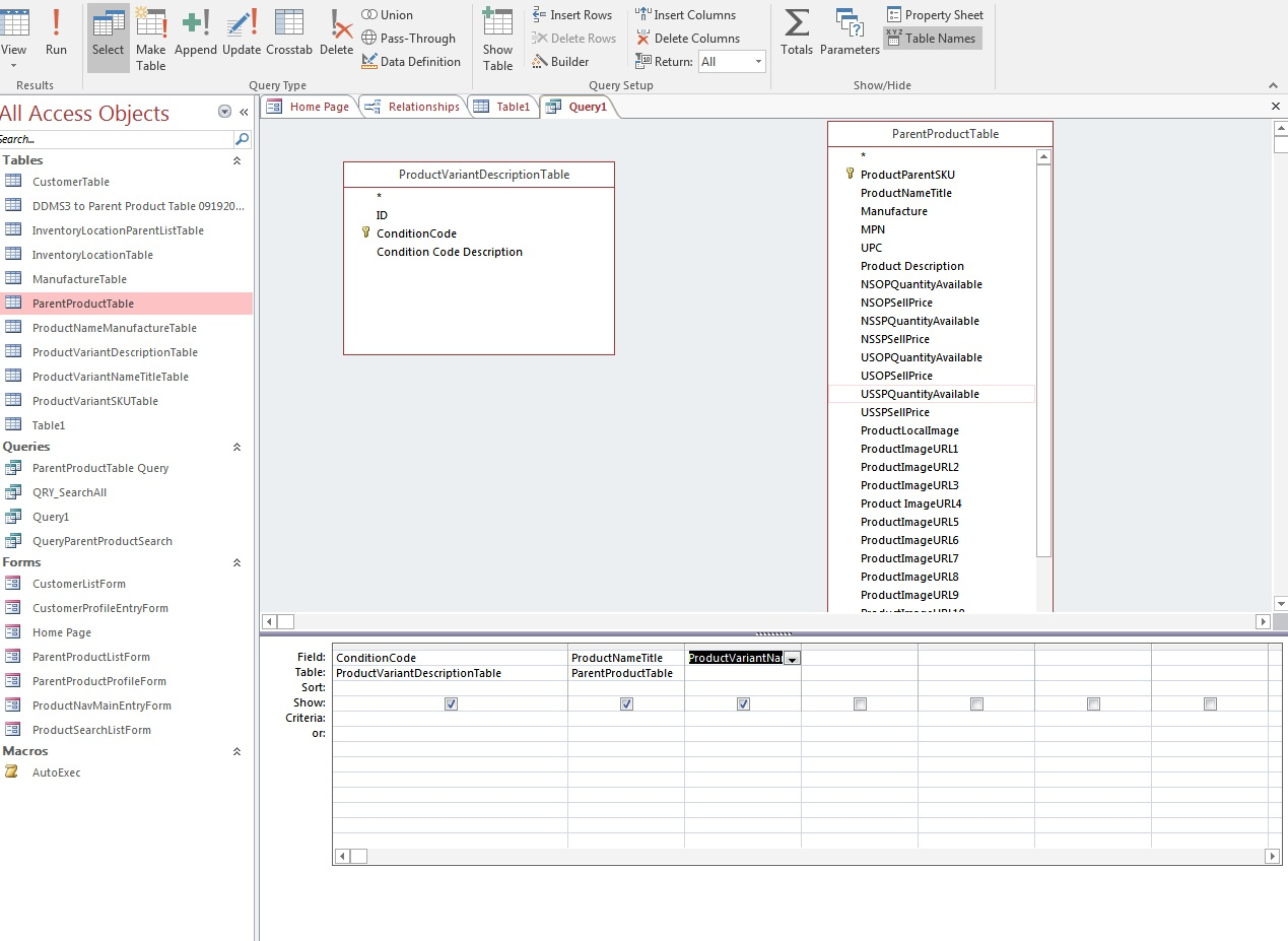 How to Merge Join Dlookup 2 different Tables in MS Access