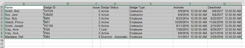 Excel 2 Formatted