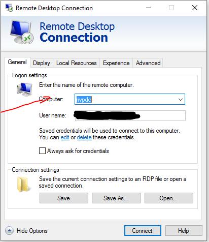 rdp computer