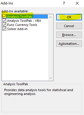 Analysis ToolPack