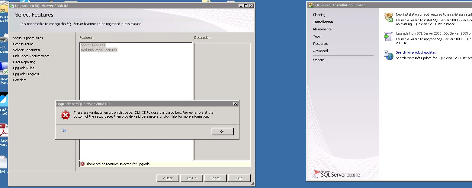 SOLUTION] Upgrading SQL 2005 Express to 2008 R2 Express