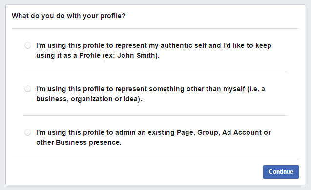 Attempt to log-into FB - Account still exists