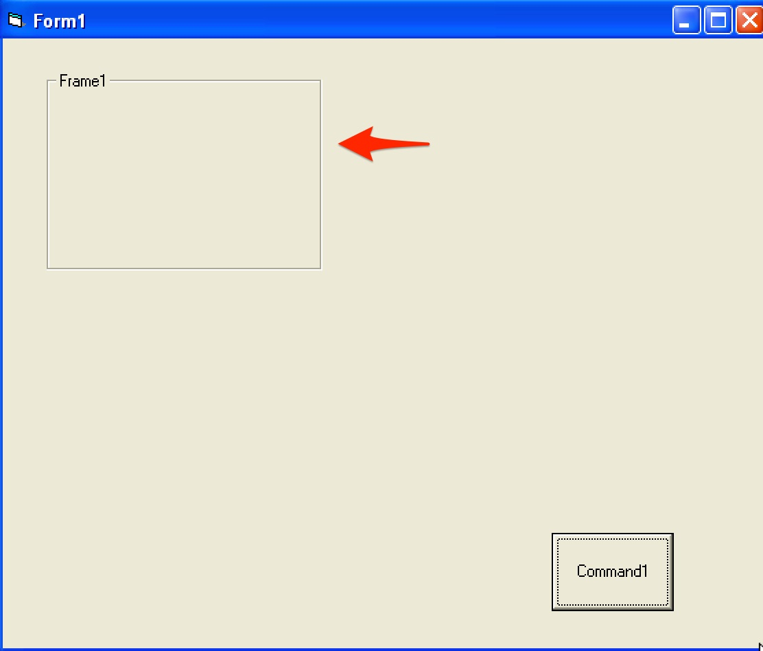 VB6: drag and drop controls in Windows 10