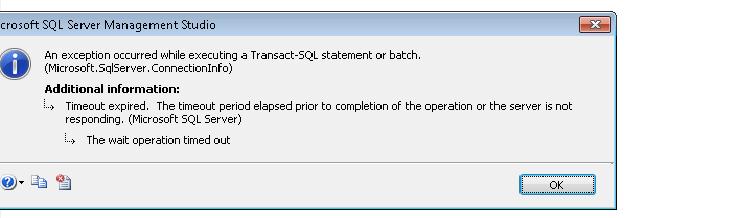 SOLUTION] SQL Server Management Studio 2008 Too Slow