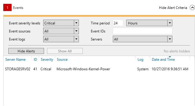 41 kernel power