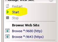 Start Default Website