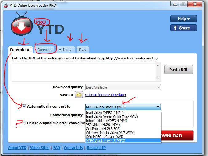 YTB downloader