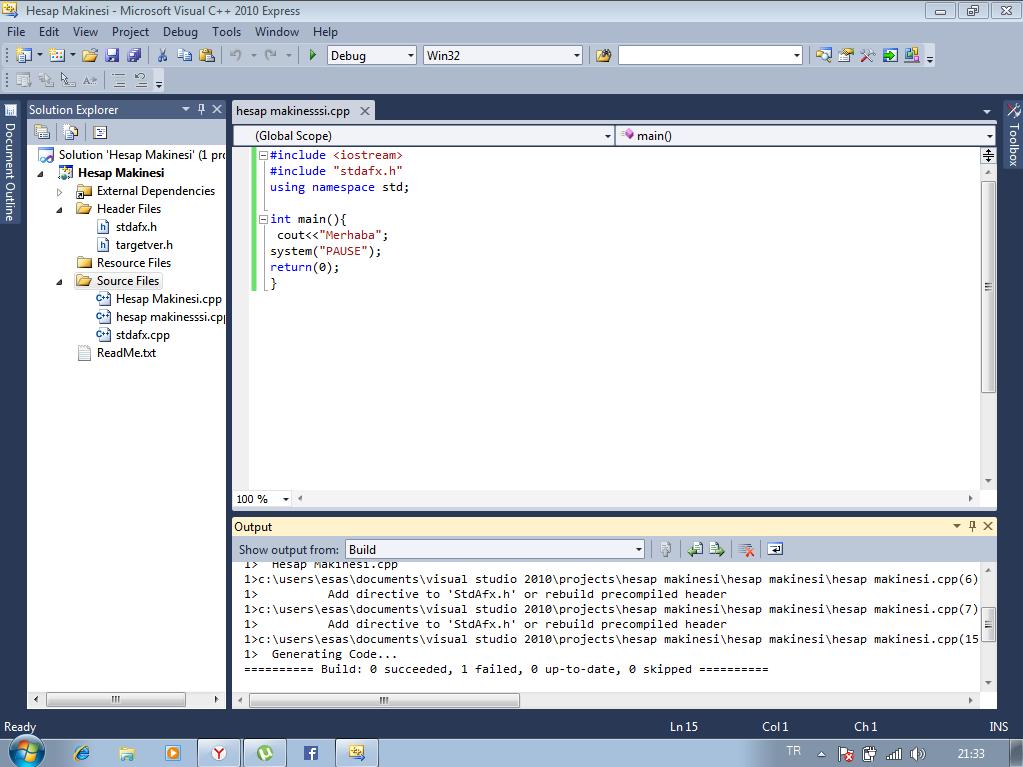 C++ Solutions