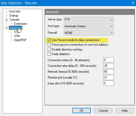 WS_FTP-Setup