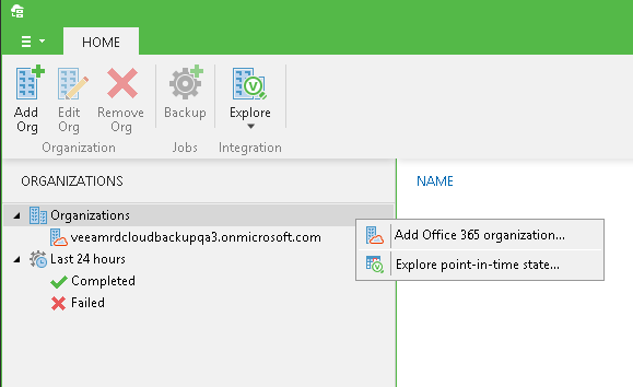 Cloud-based mail backup and recovery with Veeam Backup for