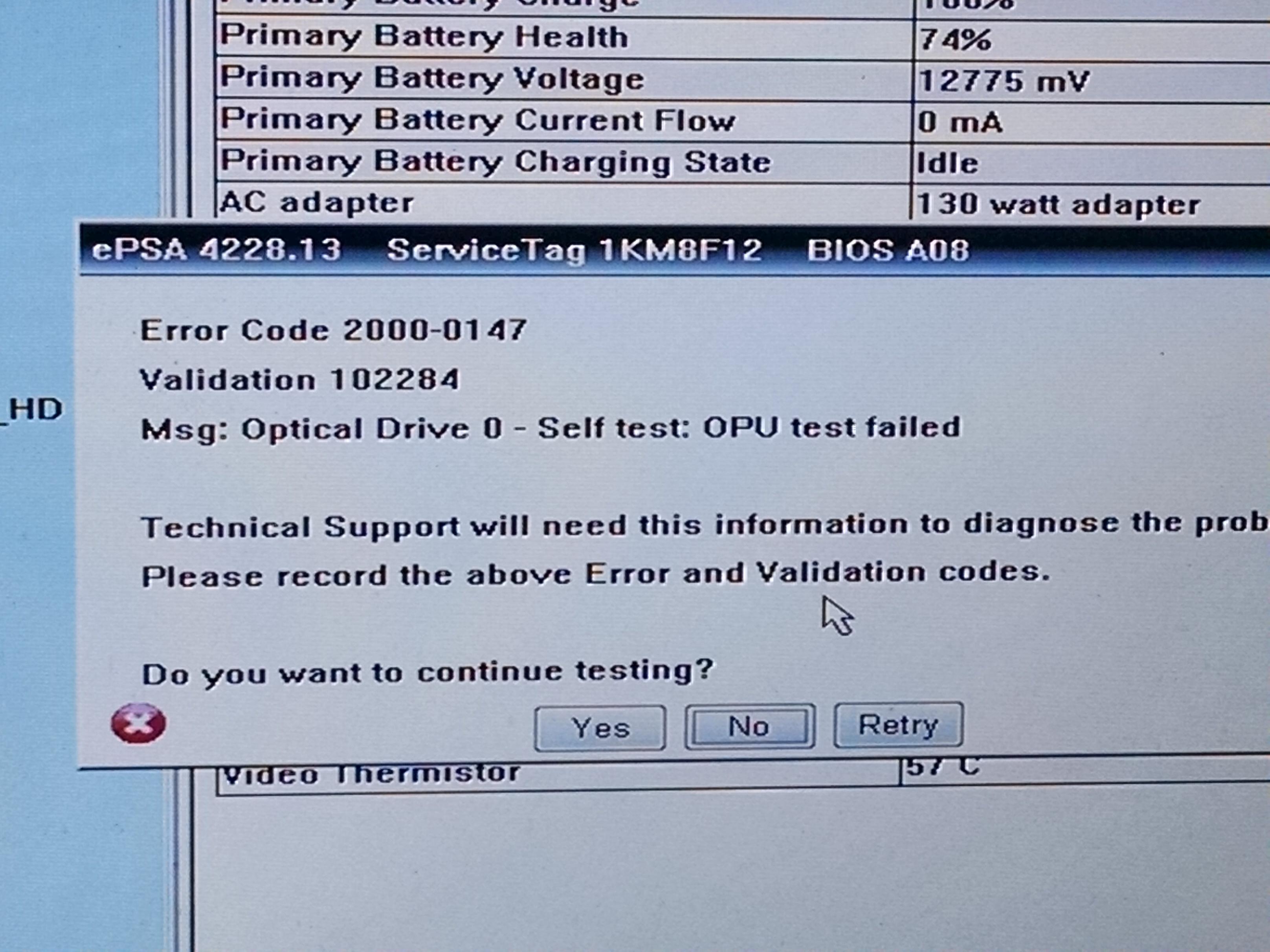 Latitude E6540 No Boot Device Found