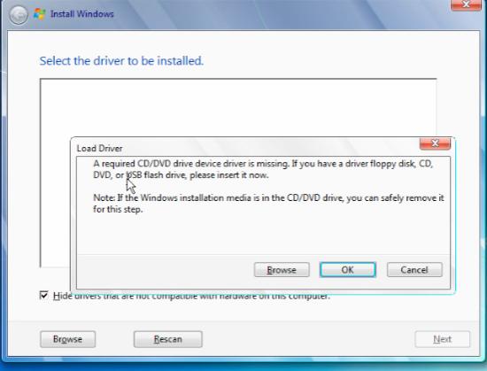 can i install windows 7 on usb flash drive