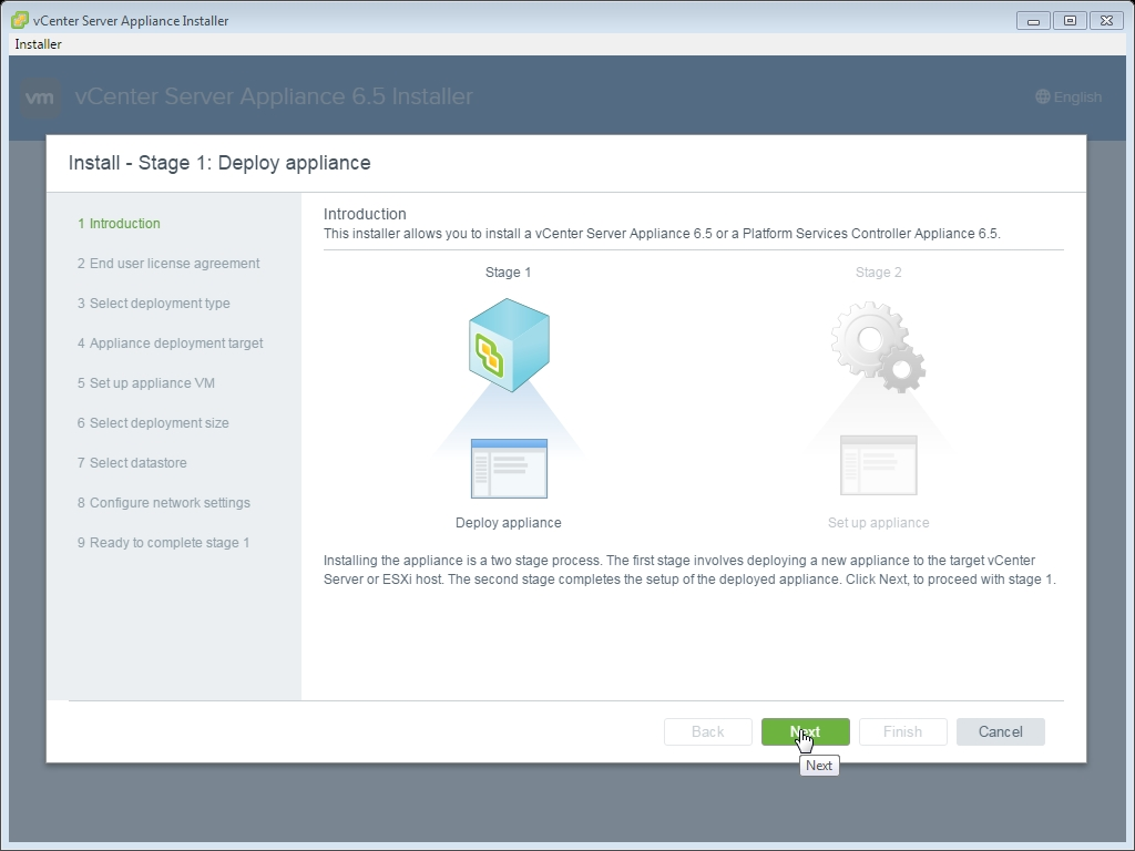 HOW TO: Deploy and Install the VMware vCenter Server