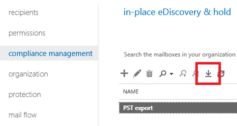 Export Office 365 Mailboxes to PST format using eDiscovery