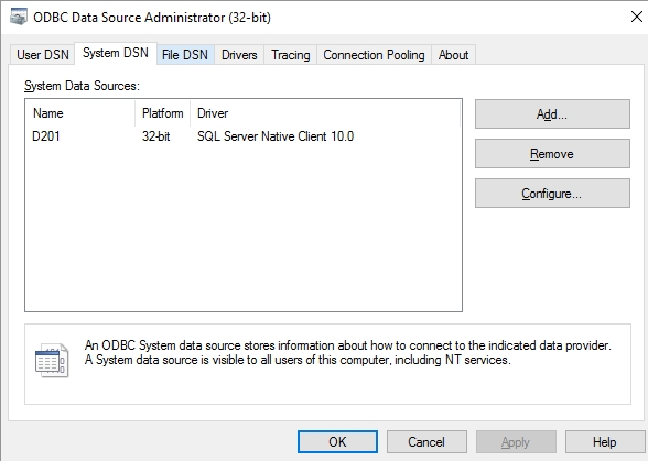 SOLUTION] How to use odbc in vb to connect to ms sql