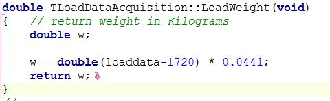 Red arrow in source code