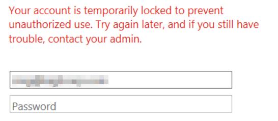 Azure SSO error:
