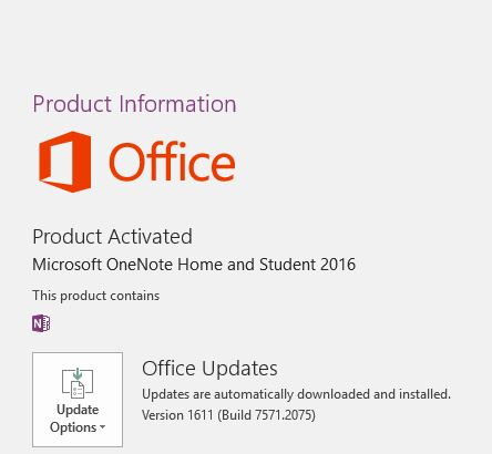 Help finding download OneNote 2016 or lates version