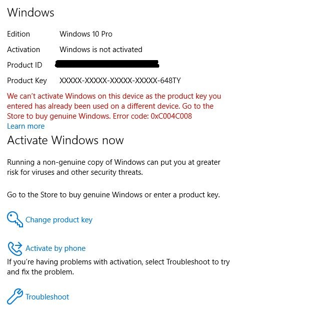 Why won't Windows 10 Enterprise activate with KMS License Key?