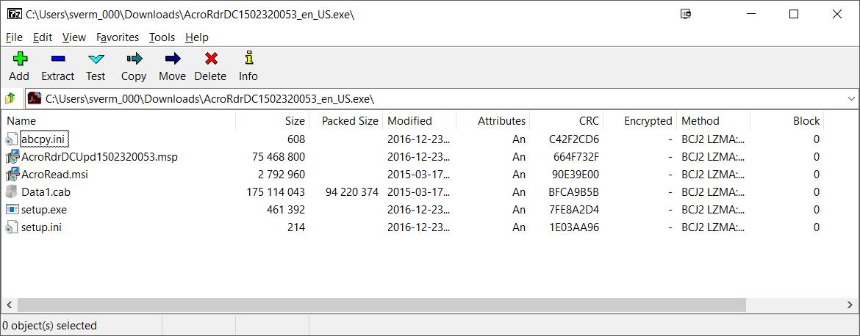 Adobe Reader DC 15 023 Silent Install