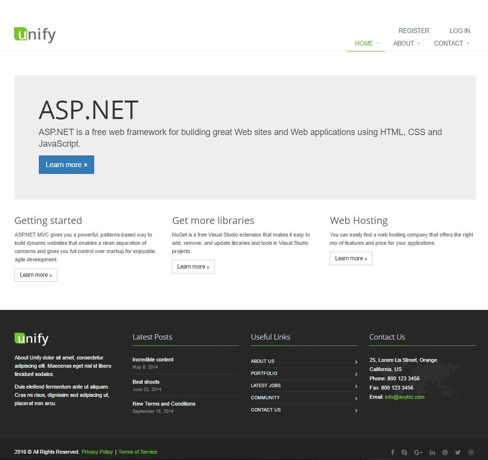 Add Theme to ASP.NET MVC