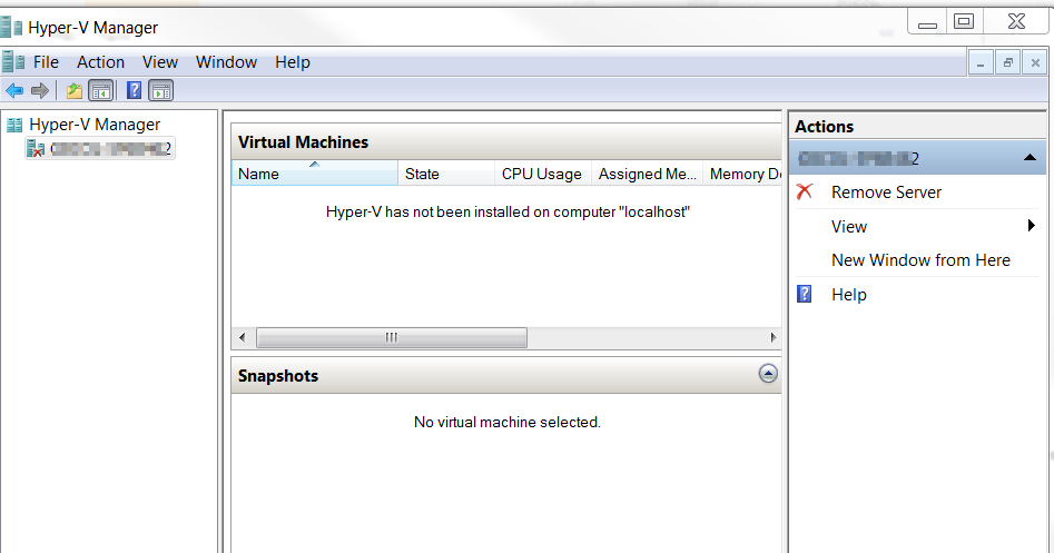 Hyper V on Windows 7 and DISK2VHD Question