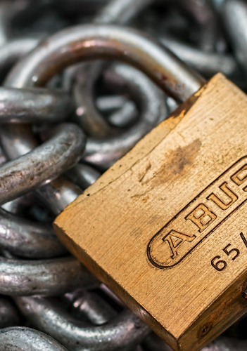 Secure your email with security best practices lock and key tax refund