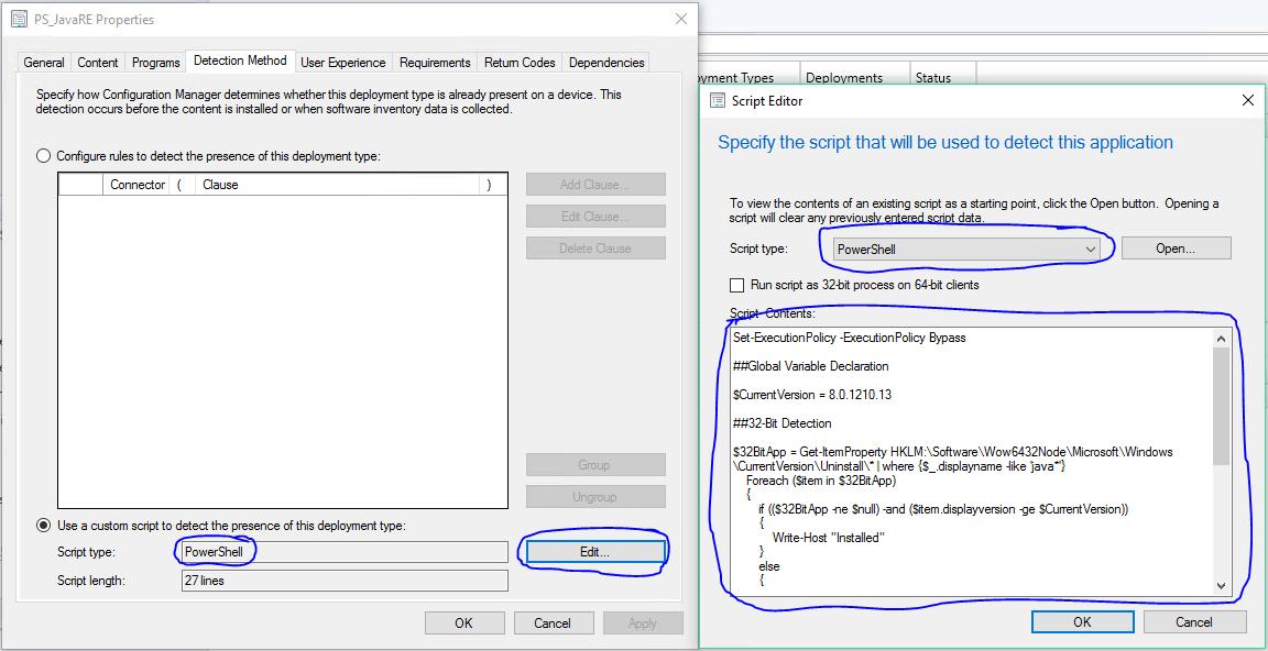 Application Detection Using Powershell