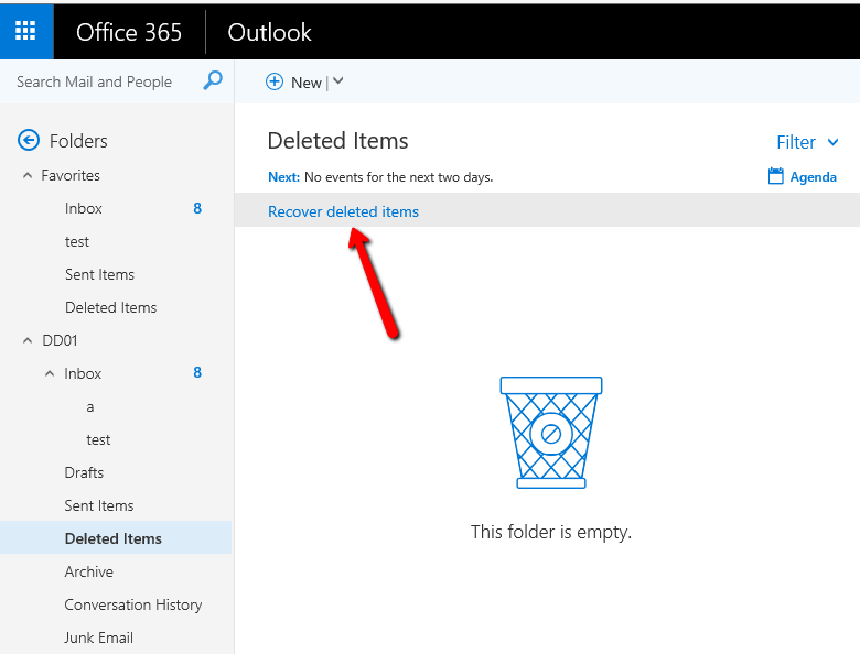 Office 365: Force email to be permanently deleted instead of