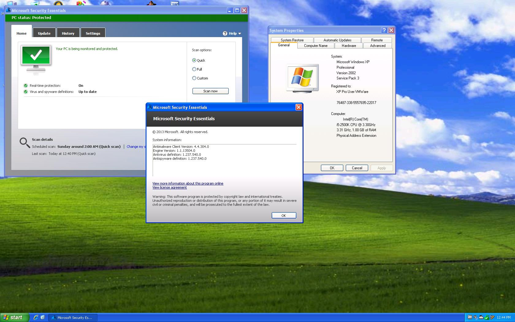 best free antivirus for win xp sp2