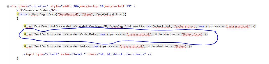 NET MVC Solutions