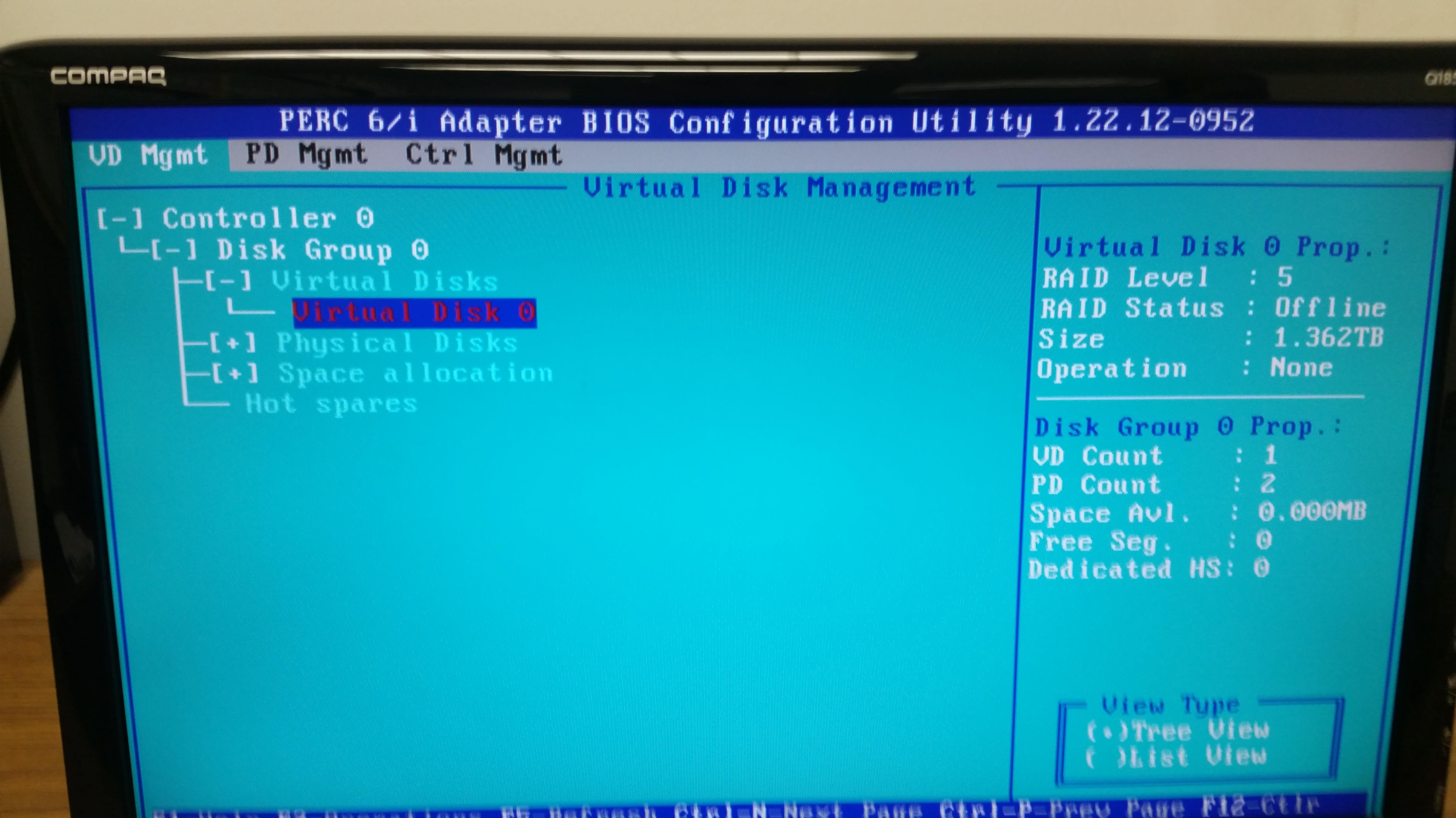 Windows Server failure RAID