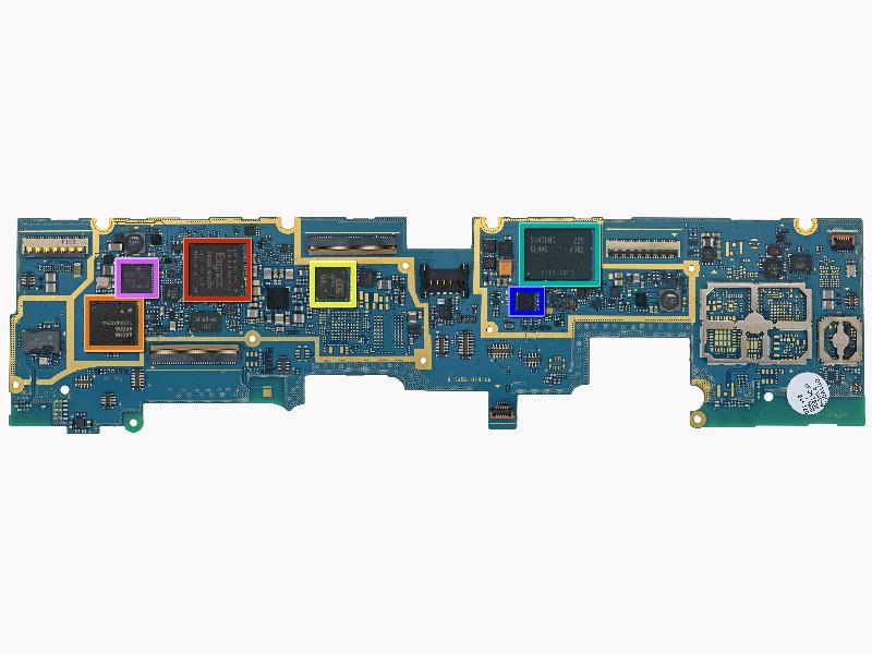 Logic  board of Samsung  Note 10.1
