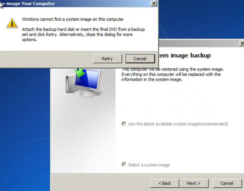 System Image Option