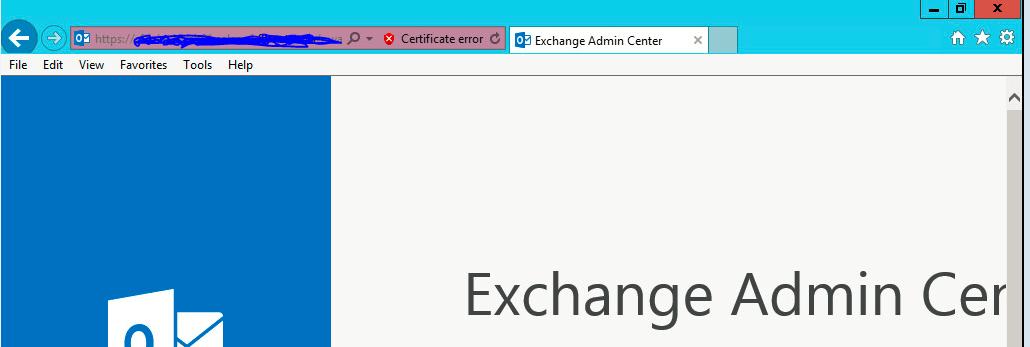 exchange 2010 and Exchange 2016 ECP Issue