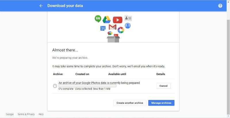 Download your data 01