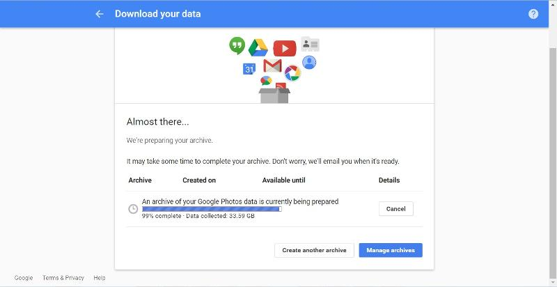 Download your data 04