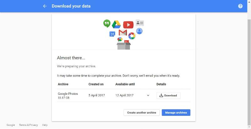 Download your data 05